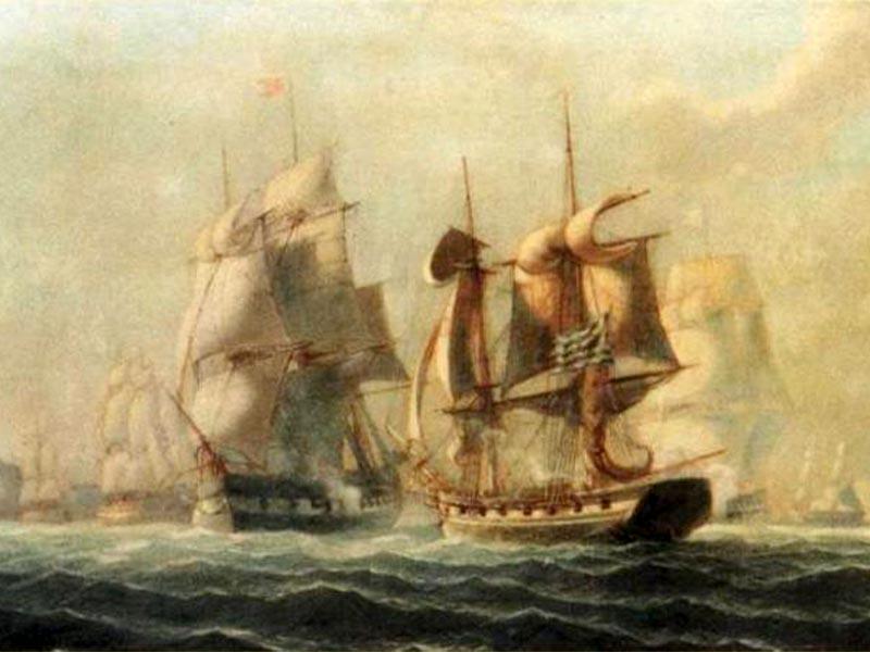 Ελληνική Επανάσταση 1821 - Ναυμαχία των Πατρών, 1822