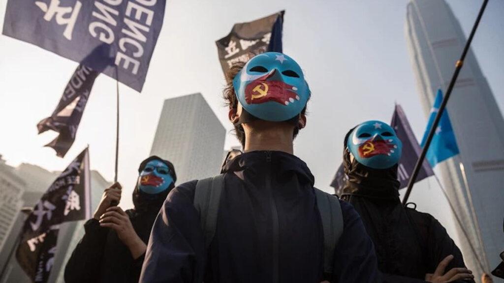 Από διαδήλωση για το Χονγκ Κονγκ