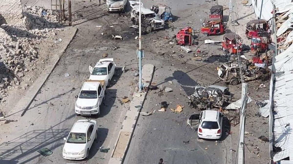 σομαλία έκρηξη αυτοκινήτου κοντά στο κοινοβούλιο
