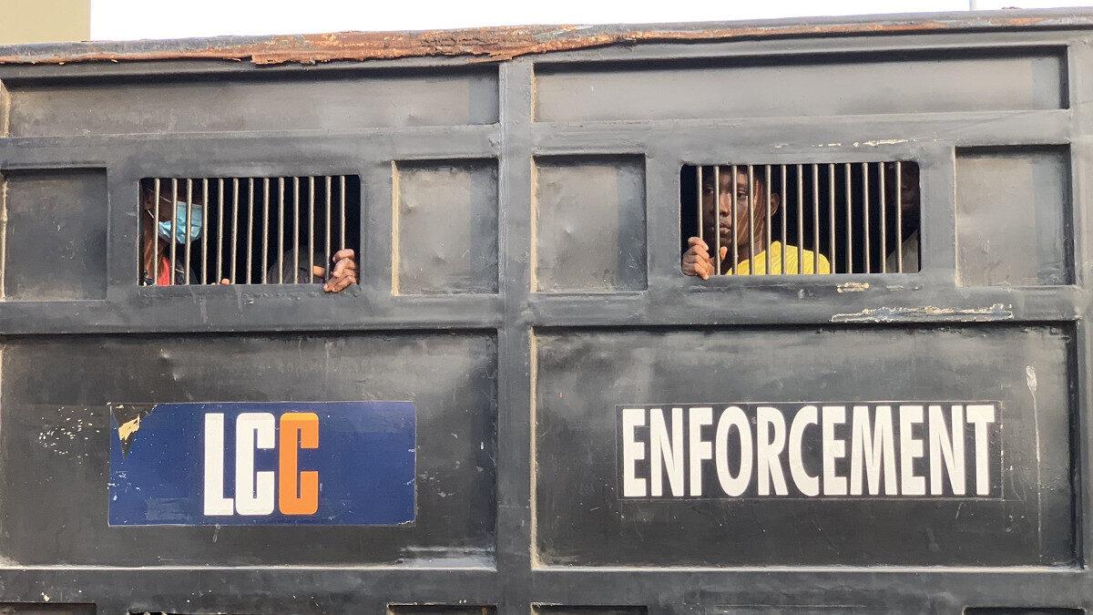 Νιγηρία σύλληψη διαδηλωτών