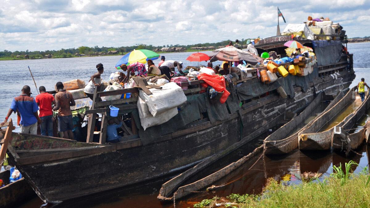 Ανατροπή σκάφους στο Κονγκό