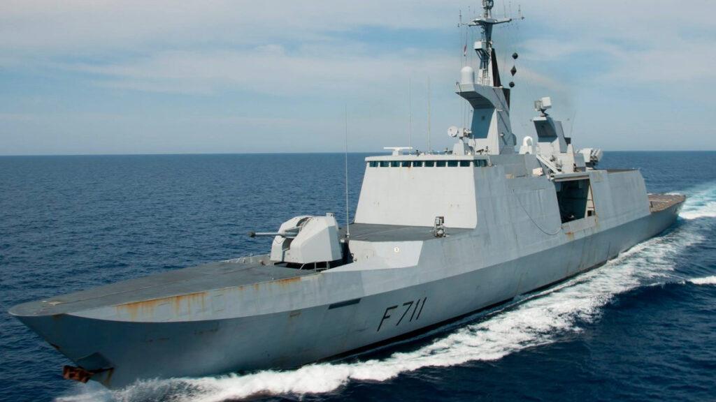 Φρεγάτα SURCOUF (F711) του Γαλλικού Πολεμικού Ναυτικού