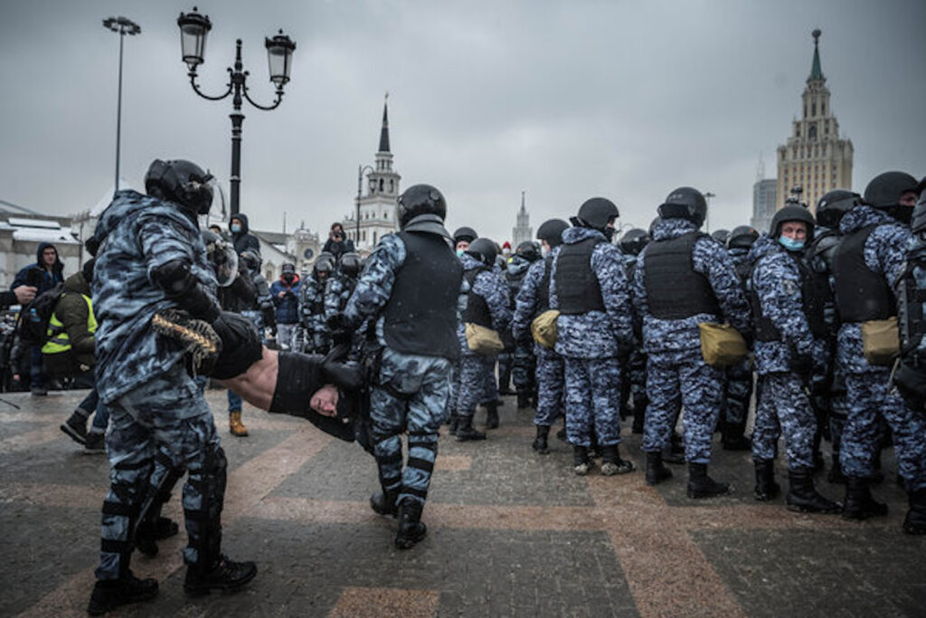 Moscow on Sunday. Sergey Ponomarev for The New York Times