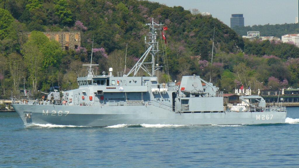 Ναρκαλιευτικό Πολεμικού Ναυτικού Τουρκίας TCG AYVALIK (M-267)
