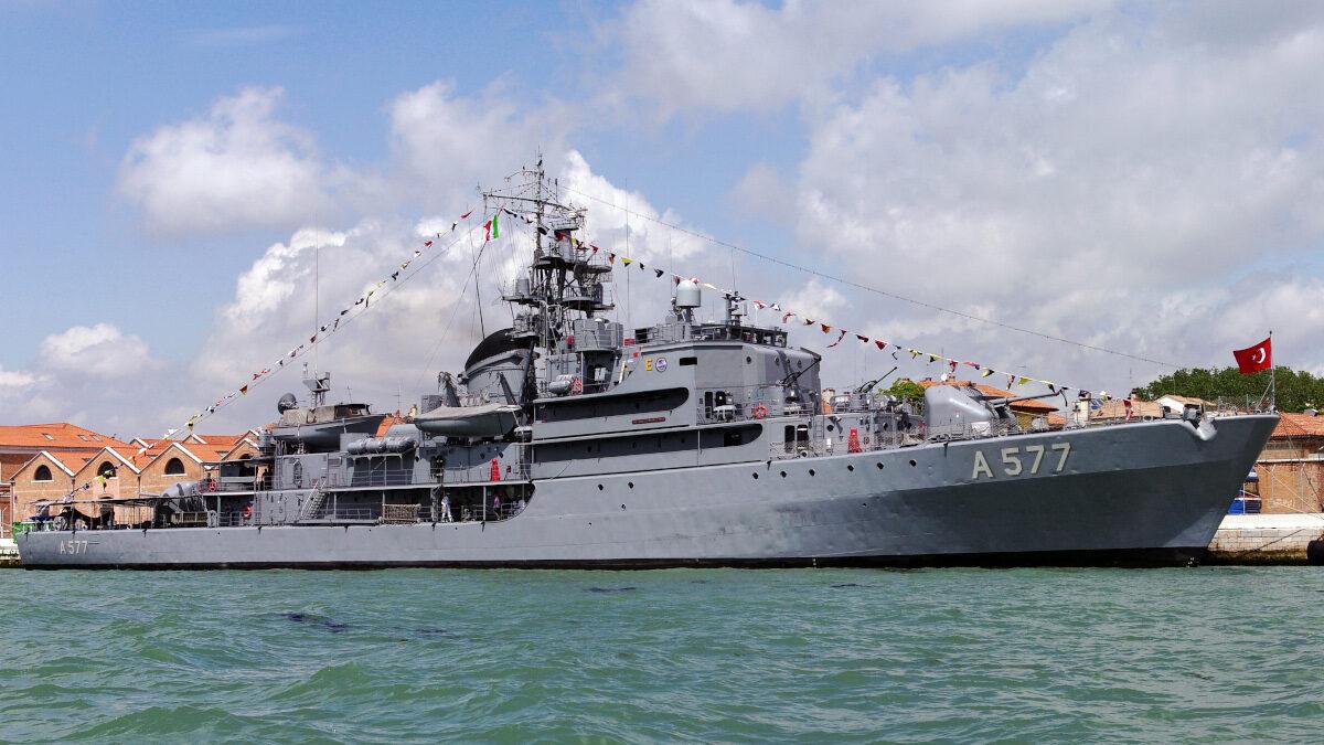 Πλοίο Γενικής Υποστήριξης Πολεμικού Ναυτικού Τουρκίας TCG SOKULLU MEHMET PASA (A577)