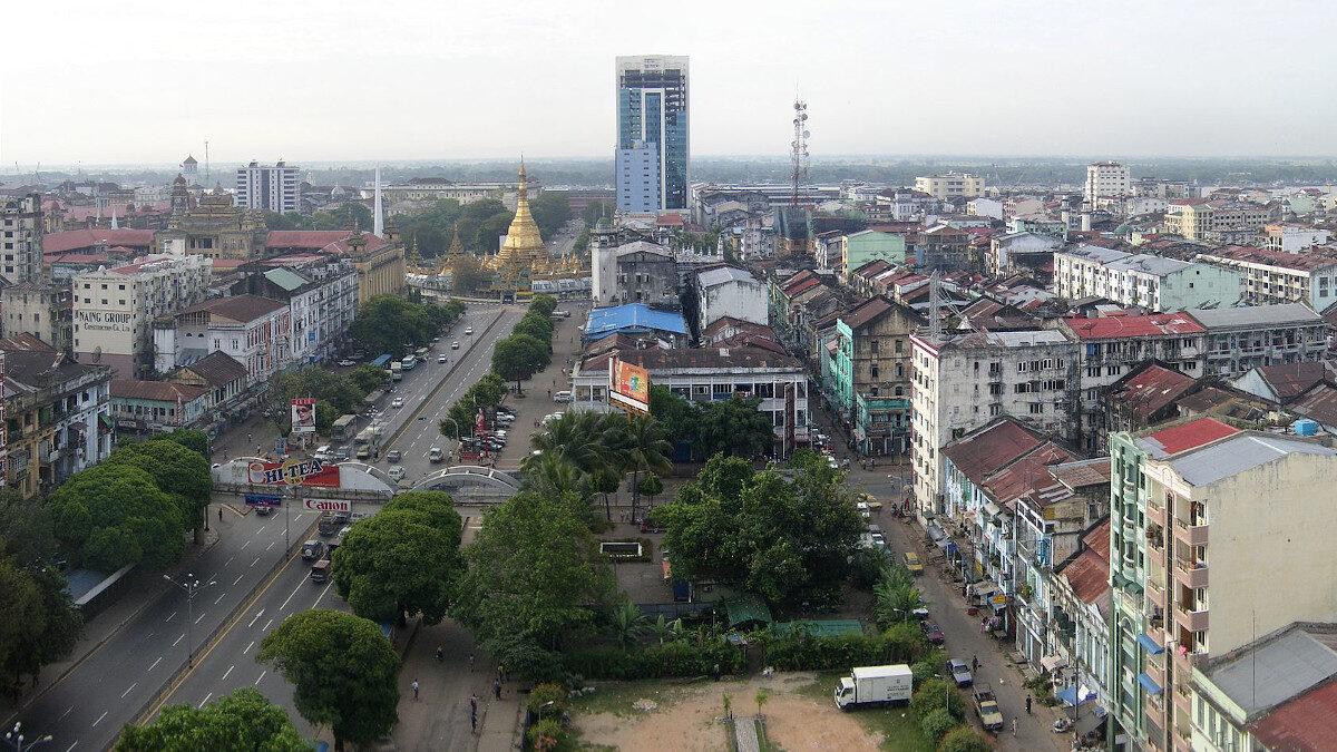 Γιανκούν, Πρωτεύουσα της Μιανμάρ