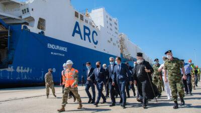 Επίσκεψη του υπουργού Άμυνας Νίκου Παναγιωτόπουλου και του πρέσβη των ΗΠΑ στην Αθήνα, Τζέφρι Πάιατ στην Αλεξανδρούπολη, με αφορμή την υποδοχή και προώθηση δυνάμεων της 101ης Αερομεταφερόμενης Ταξιαρχίας των ΗΠΑ στο πλαίσιο της ΝΑΤΟϊκής άσκησης «Atlantic Resolve», επίκεντρο της οποίας είναι η Ρουμανία, την Πέμπτη 23 Ιουλίου 2020