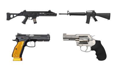 Προϊόντα των οπλικών βιομηχανιών CZ και COLT
