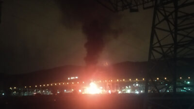 Πυρκαγιά στο Κέντρο Υπερυψηλής Τάσης στον Ασπρόπυργο - 7/2/2021 - Με αποτέλεσμα BLACKOUT σε πολλές περιοχές της Αττικής και της Πελοποννήσου