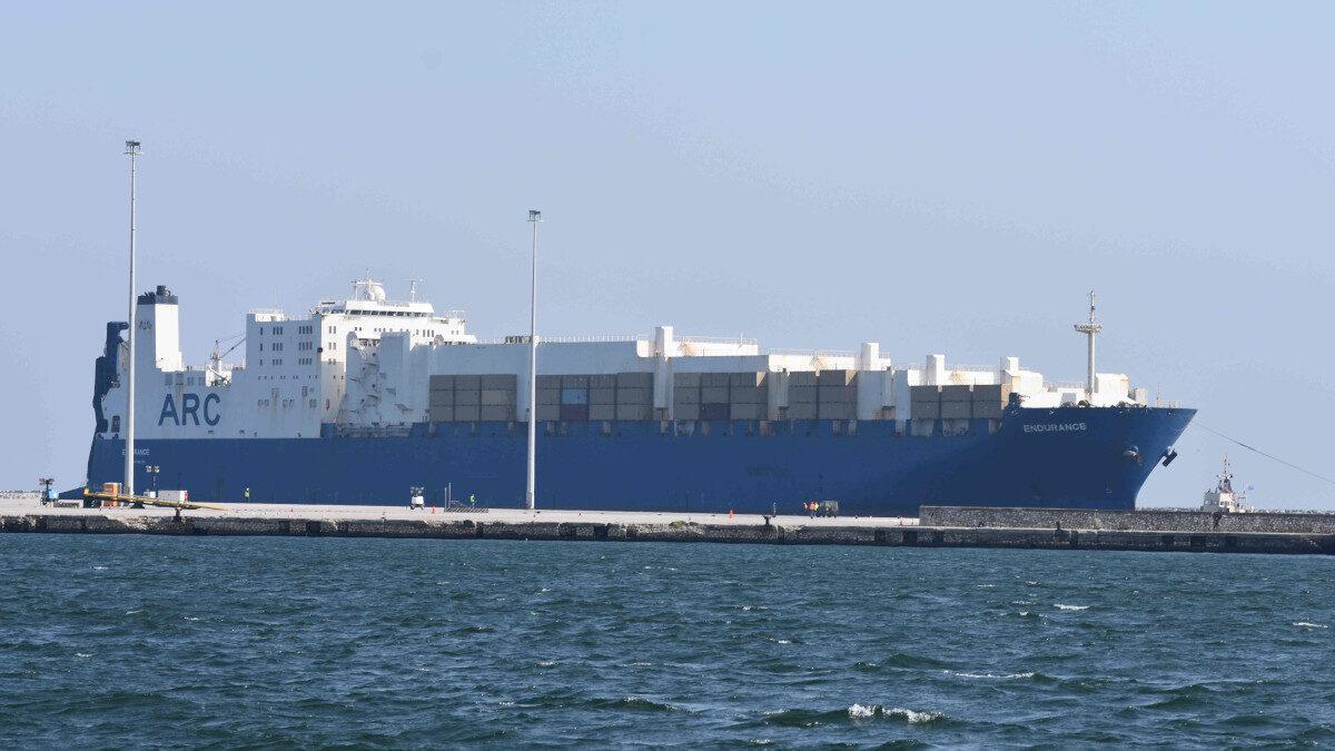 Το Αμερικανικό πλοίο Endurance στο Λιμάνι της Αλεξανδρούπολης