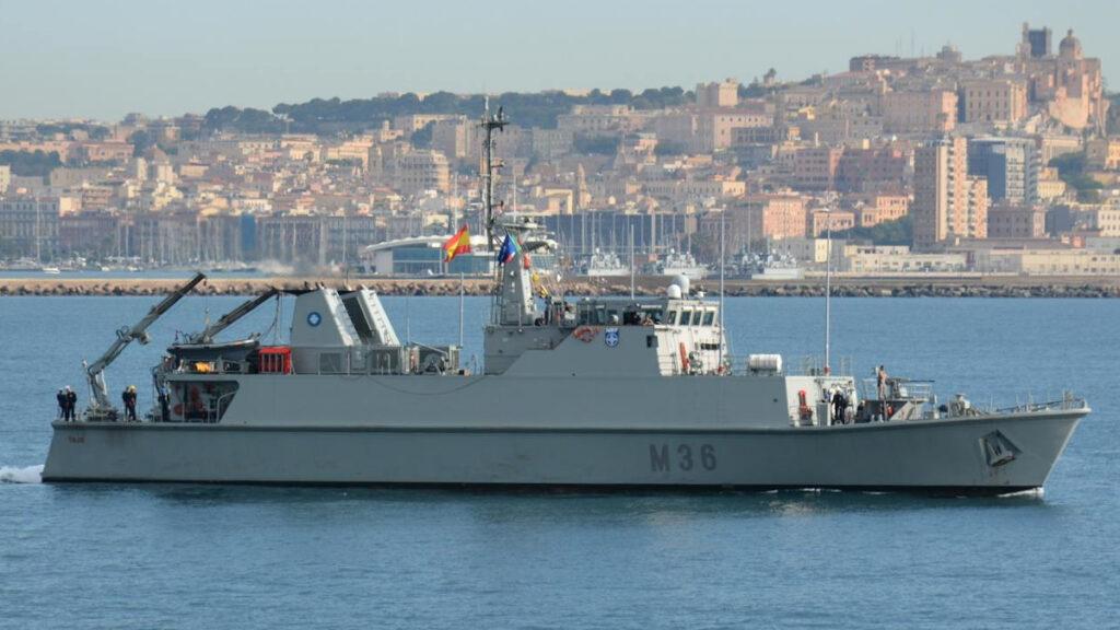 Ναρκαλιευτικό του Βασιλικού Ναυτικούς της Ισπανίας ESPS TAJO
