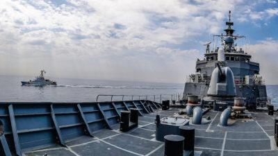 """Συνεκπαίδευση της Φρεγάτας """"Ύδρα"""" με μονάδες των ΗΠΑ - Πολεμικό Ναυτικό"""