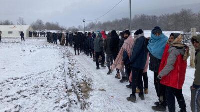 Στρατόπεδο προσφύγων LIPA στη Βοσνία - Ερζεγοβίνη