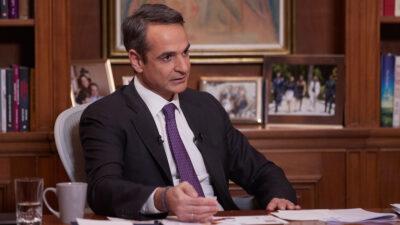 Ο Πρωθυπουργός Κ. Μητσοτάκης