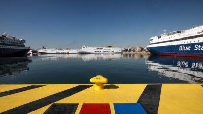 Λιακάδα στο λιμάνι του Πειραιά
