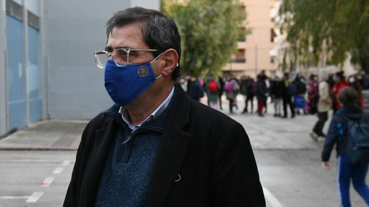 Κώστας Πελετίδης, δήμαρχος Πάτρέων