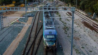 Συρμός του προαστιακού Σιδηροδρόμου / ΤΡΕΝΟΣΕ