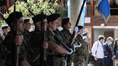 Στρατιώτες στη Λέσβο