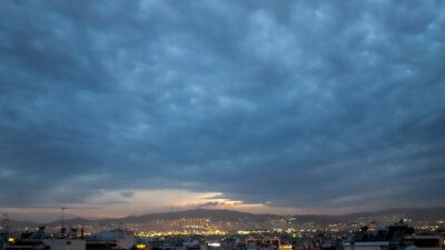 Καιρός - Συννεφιασμένη Αθήνα - Φλεβάρης 2021