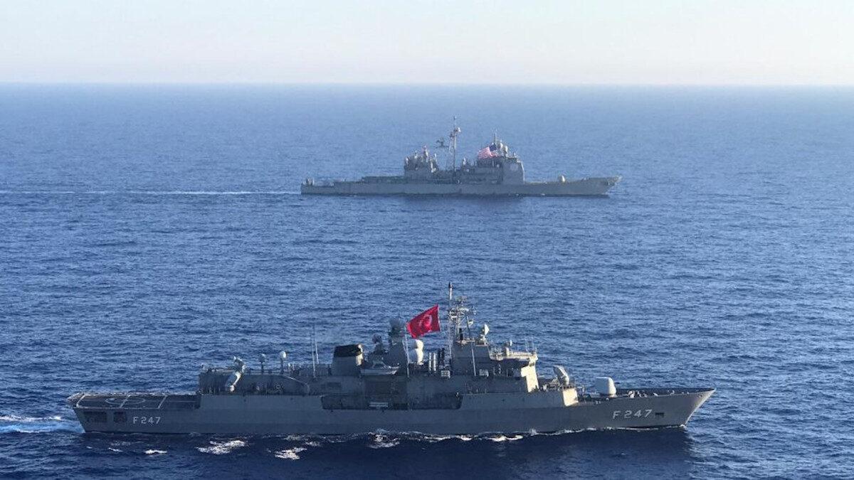 Κοινή άσκηση ΗΠΑ - Τουρκίας στην Κεντρική και Ανατολική Μεσόγειο - 28/7/2020