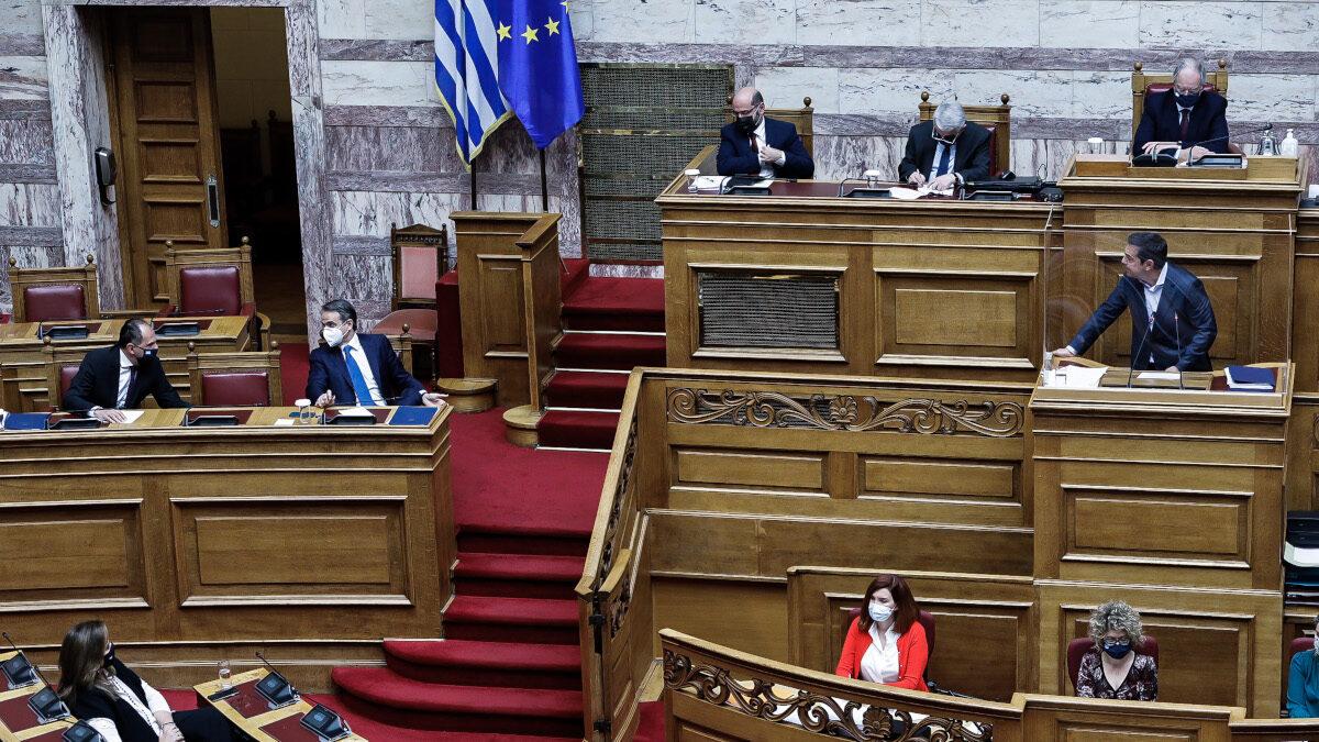 Συζήτηση στη Βουλή για την υπόθεση Λιγνάδη