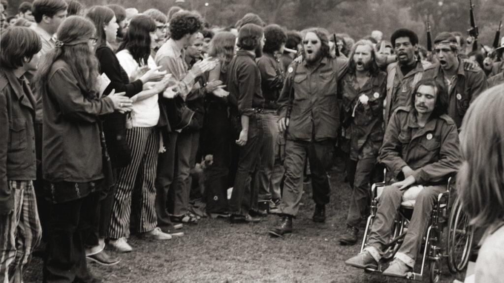 Διαδήλωση Βετεράνων εναντίων του πολέμου του Βιετνάμ στη Βοστόνη το 1970