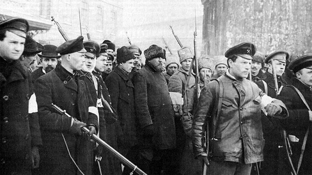 Ρωσία - Φεβρουαριανή Επανάσταση, 1917
