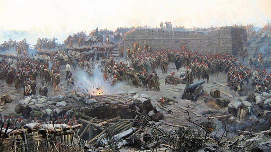 Αγγλία - Γαλλία - Οθωμανική Αυτοκρατορία - Ρωσία - Κριμαϊκός Πόλεμος, 1853-1856