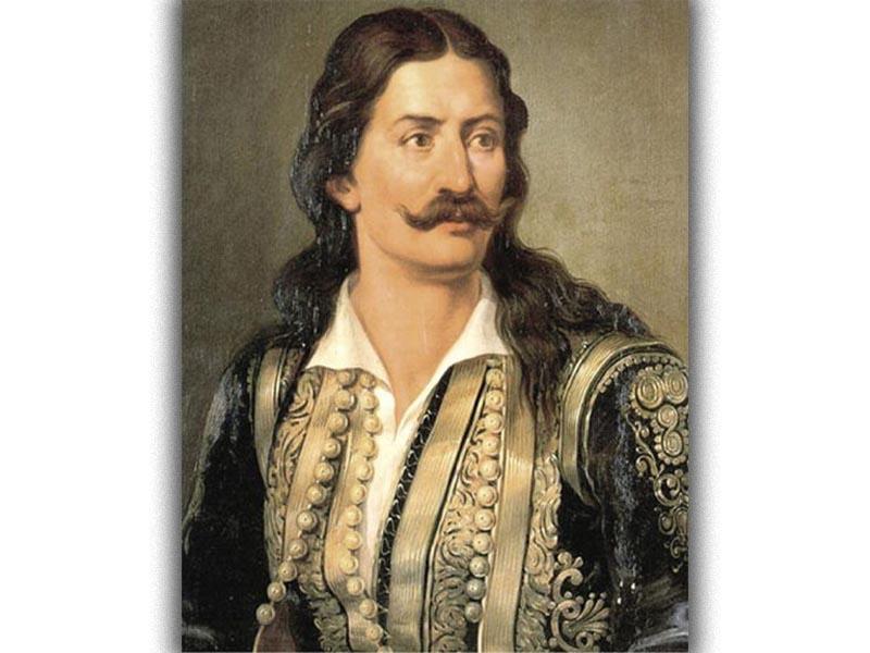Ελληνική Επανάσταση 1821 - Πολιτισμός - Ζωγραφική - Αθανάσιος Διάκος