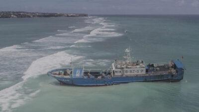 Ναυάγιο κινεζικού σκάφους στο Μαυρίκιο