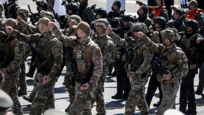 Στρατιωτική παρέλαση μπροστά από τη Βουλή 25/03/2021 - Πηγή: Eurokinissi