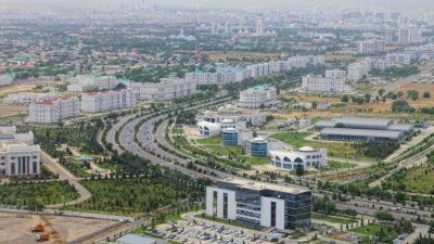 Ασκαμπάτ, πρωτεύουσα του Τουρκμενιστάν