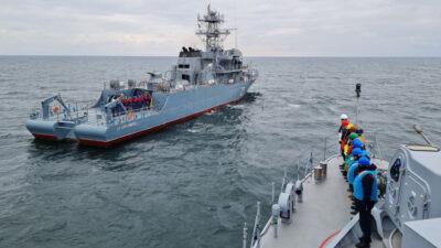 Η 2η Νατοϊκή Αρμάδα Ναρκοπολέμου SNMCMG2 στην άσκηση POSEIDON στη Μαύρη Θάλασσα με τη συμμετοχή Τουρκίας, Βουλγαρίας, Ρουμανίας, Γεωργίας και Ουκρανίας
