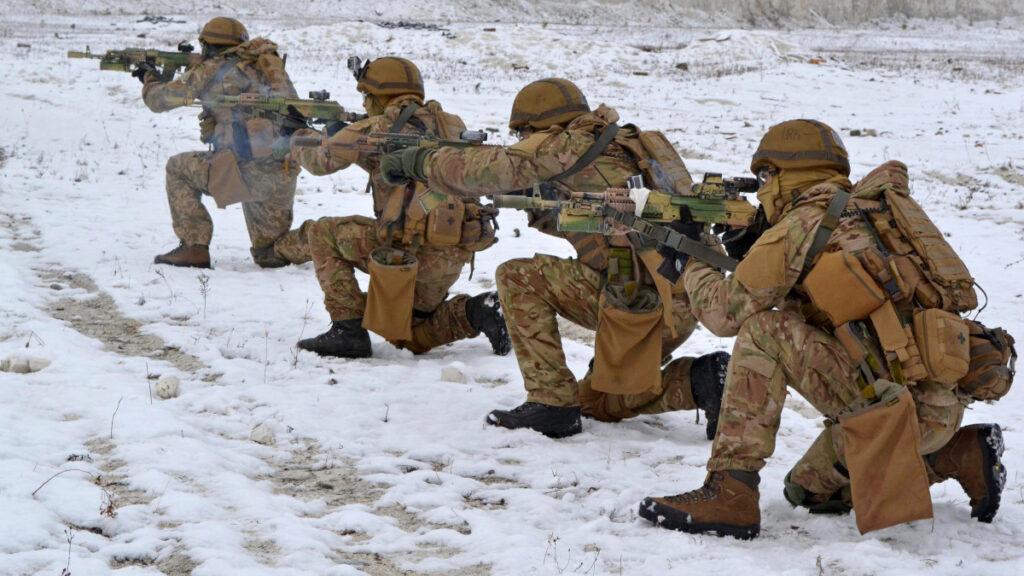 Ειδικές Δυνάμεις της Ουκρανίας σε άσκηση