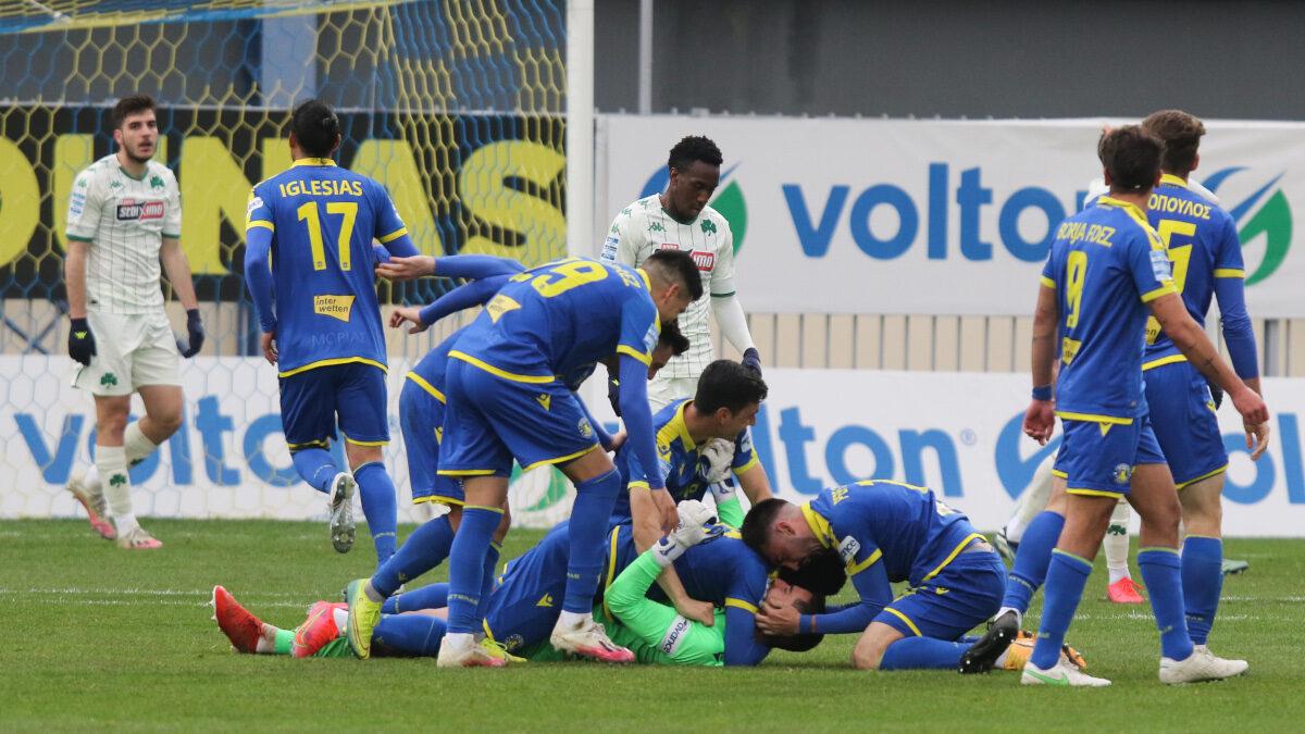 Super League - Play Offs: Αστέρας Τρίπολης - Παναθηναϊκός