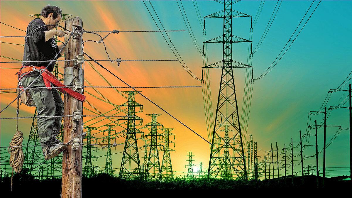 ΔΕΗ- Ηλεκτρική ενέργεια - εναερίτης