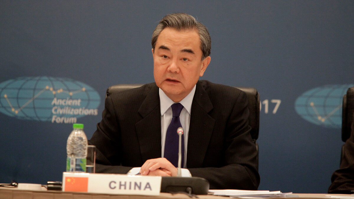 Ο Υπουργός Εξωτερικών Γουάνγκ Γι της Κίνας