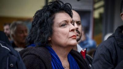 Η Λιάνα Κανέλλη, βουλευτής του ΚΚΕ
