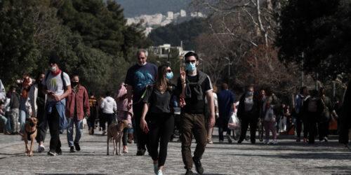 Βόλτα στη Διονυσίου Αρεοπαγίτου - Λοκντάουν - Αθήνα