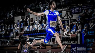 Ο Μίλτος Τεντόγλου στο Ευρωπαϊκό Πρωτάθλημα κλειστού στίβου