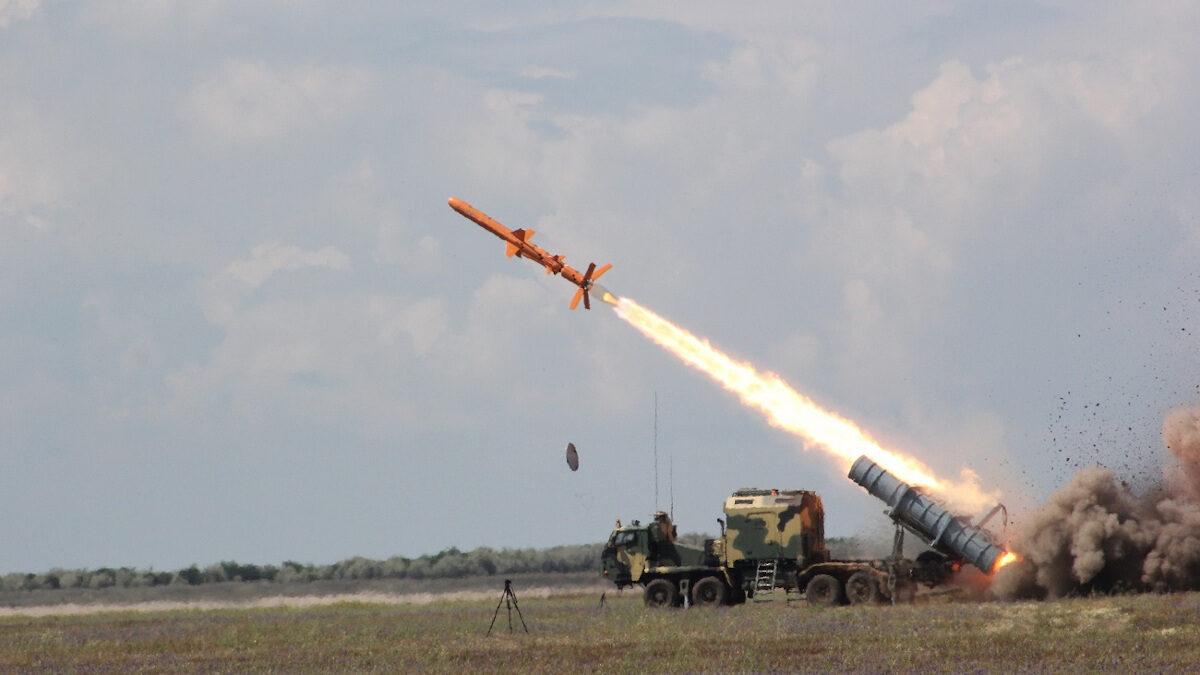 Δοκιμή του νέου πυραύλου Neptun της Ουκρανίας