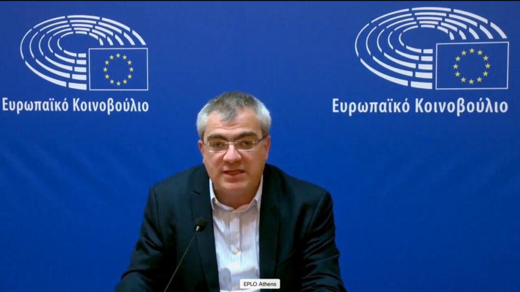 Κώστας Παπαδάκης, Ευρωβουλευτής του ΚΚΕ