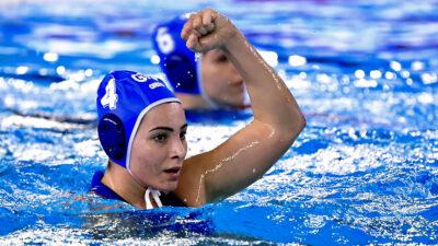 Εθνική Ελλάδας Πόλο Γυναικών - Προ-ολυμπιακό Τουρνουά στην Τεργέστη - Ελλάδα - Ολλανδία 23/1/2021