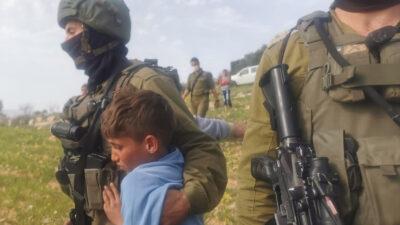 Από την σύλληψη των 5 ανηλίκων στην Δυτική Όχθη