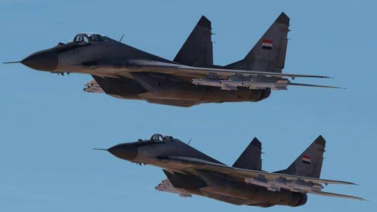 Μαχητικά MiG-29 της Συριακής Πολεμικής Αεροπορίας