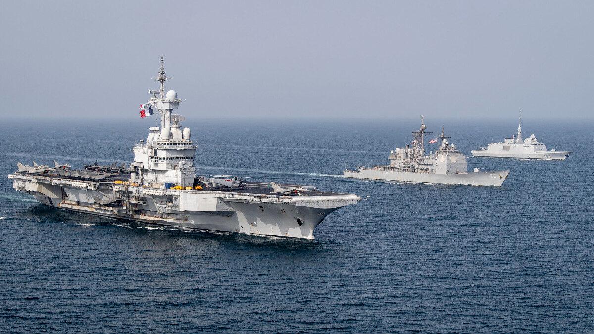 Ναυτικά γυμνάσια ανοιχτά του Ομάν με πολεμικά πλοία και αεροσκάφη από τη Γαλλία (με συμμετοχή και του αεροπλανοφόρου «Σαρλ ντε Γκολ»), το Βέλγιο και την Ιαπωνία και τις ΗΠΑ / Ετήσια Ναυτική Άσκηση «Arabian Sea Warfare Exercise» (Gaswex)