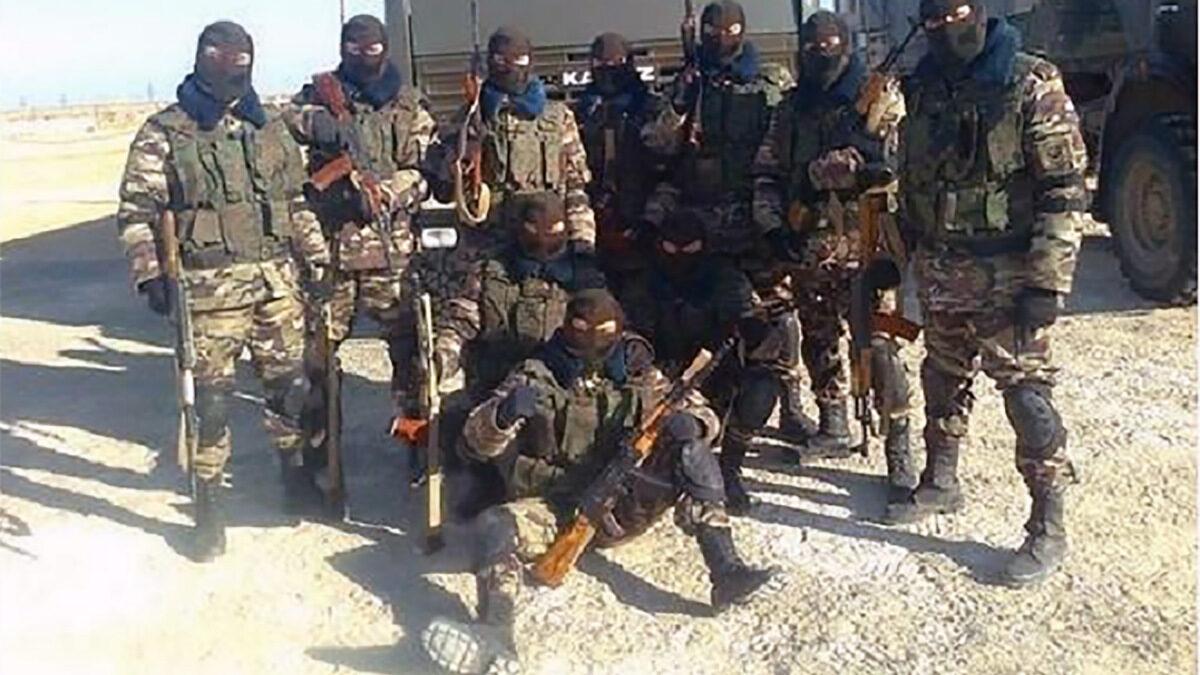 Μισθοφόροι της WAGNER GROUP - Ιδιωτικός Στρατός που εκτελεί συμβόλαια και για τη Ρωσική Ομοσπονδία. Εδώ στην Μοζαμβίκη