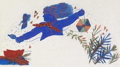 """Πίνακας του Δημήτρη Μυταρά - """"Χαρταετός"""""""