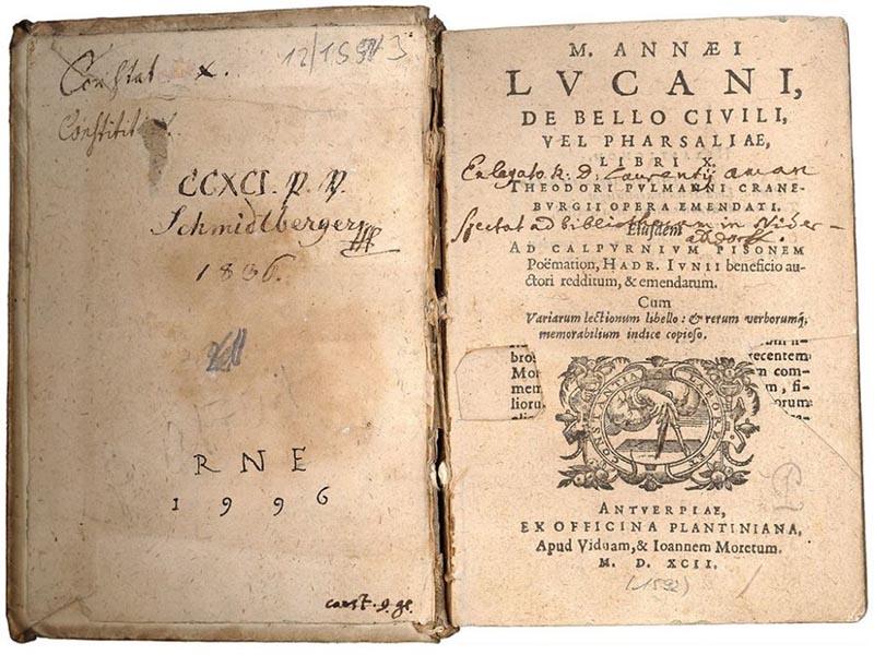 Πολιτισμός - Ποίηση - Μάρκος Ανναίος Λουκανός