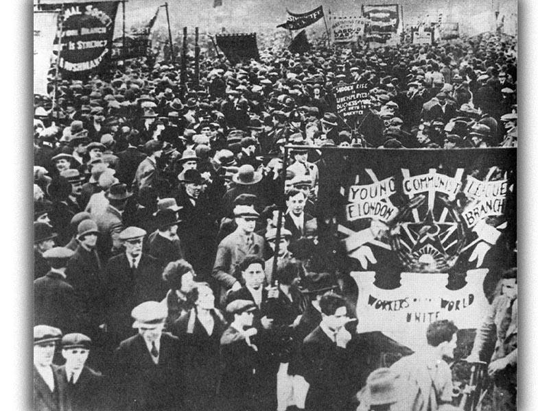 Αγγλία - Πρωτομαγιά, 1926 - Απεργία ανθρακωρύχων